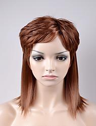 europe et aux États-Unis dans la nouvelle section longue de la chevelure brune cheveux raides haute température pelucheux fil perruque