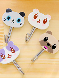 Cartoon Cat Sticky Hook(4 PCS)