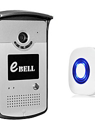 EBELL ATZ-DBV03P-433MHZ 720P HD Smart Door Bell with HD Remote-control for Smartphone Support 64GB Card Two Way Audio