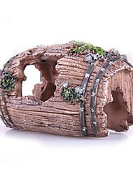 Aquário Decoração Ornamentos Tubos e Túneis Atóxico & Sem Sabor Resina