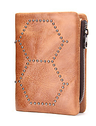 Unisex Cowhide Sports Casual Outdoor Office & Career Wallet All Seasons