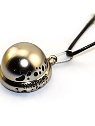 Больше аксессуаров Вдохновлен One Piece Bluebeard Gilles de Rais Аниме Косплэй аксессуары ожерелья серый Золотистый Серебро Сплав