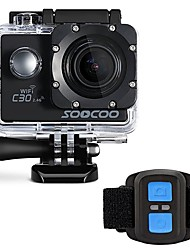SOOCOO Sports Action Camera WiFi 4K 60fps 120fps 30fps 24fps 240fps 2 128 GB 30 MUniversal Auto Diving & Snorkeling Motorcycle
