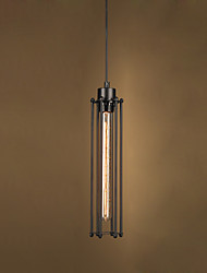 Line 1M  European-Style Restoring Ancient Ways, Wrought Iron Alcatraz Droplight Led