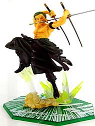 Аниме Фигурки Вдохновлен One Piece Roronoa Zoro PVC 20 См Модель игрушки игрушки куклы