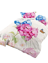Mingjie 3D Reactive  Animal And  Flowers  Bedding Sets 4 Pcs for Queen Size Contain 1 Duvet Cover 1 Bedsheet 2 Pillowcases from China
