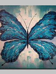 Hand Painted Modern Abstract Butterfly Animal Oil Paintings On Canvas Wall Art Picture For Home Decoration Ready To Hang