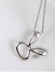 Pendants Sterling Silver Zircon Cubic Zirconia Basic Animal Design Fashion Luxury Jewelry Silver Jewelry Daily Casual 1pc