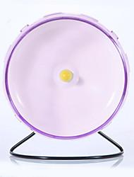 Грызуны Колесо для упражнений Пластик Зеленый Синий Розовый Желтый Фиолетовый
