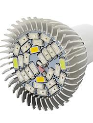 10W E27 Lampes Horticoles LED 28 SMD 5730 800 lm Blanc Chaud Rouge Bleu UV (Lumière Noire) V 1 pièce