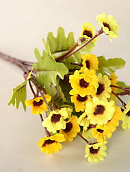 1 Ast Kunststoff andere Gänseblümchen Künstliche Blumen 30