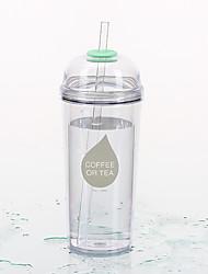 Transparente Classique Outdoor Articles pour boire, 480 ml Portable Sans BPA Plastique jus Eau Tumbler