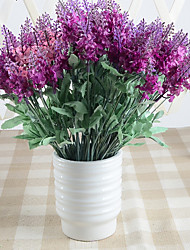 1pc High-grade Fake Dry Flower Lavender Tabletop Flower
