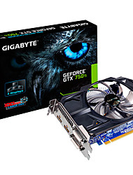 GIGABYTE video graphics card GTX750Ti  N75TD5-2GI 1020MHz-1085MHz/5400MHz 2GB/128bit GDDR5
