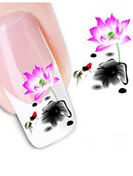 1sheet  Water Transfer Nail Art Sticker Decal