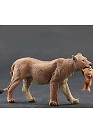 Figurines d'Action & Animaux en Peluche Modèle d'affichage Maquette & Jeu de Construction Jouets Nouveautés Tiger Plastique KakiPour