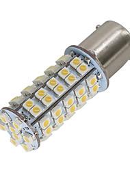 4PCS Warm white P21W 382 BA15S 1156 68 3528 LED SMD WHITE RED TAIL REVERSE FOGLIGHT INDICATOR