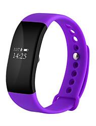 IP68 bluetooth4.0 impermeável monitoramento da freqüência cardíaca do exercício da etapa pulseira wearable inteligente para ios android