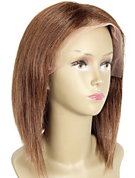 Short Bob Wig With Baby Hair Full Lace Wigs Human Hair Short Bob Lace Wigs Indian Hair Cuts Bob Human Hair Wigs