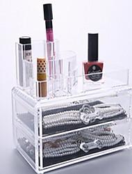 Makeup Storage Transparent Others 10.8*11.2*10 Women