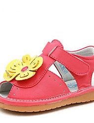 Mädchen-Sandalen-Lässig-PUKomfort-Rot Beige