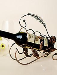 Estantes de Vino Hierro Fundido,22*15*34CM Vino Accesorios
