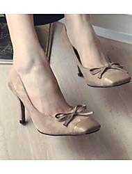 Damen-High Heels-Outddor-PUAndere-Schwarz Khaki