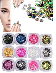 1pcs Nail Decorative Fish Scales Dragonscale Sequins Laser Nail Decorations