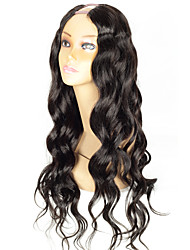 CHEAP Body Wave Upart Wig 1.5*4Inch Middle Part U Part Human Hair Wigs Brazilian Human Hair U Shaped Wig For Sale Wholesale Instock