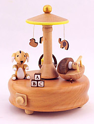 Music Box Castle in the Sky Classic & Timeless Wood For Boys / For Girls