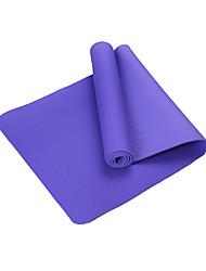 TPE Mats Yoga Eco-friendly Inodore 6 mm Rosa Blu Verde Viola Blu chiaro Other