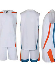 Ensemble de Vêtements/Tenus(Jaune Blanc Noir Bleu Orange) -Basket-ball-Sans manche-Homme