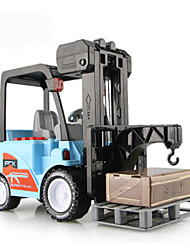 Farm Vehicles Pull Back Vehicles 1:10 Metal Plastic Blue