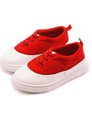 Mädchen-Loafers & Slip-Ons-Lässig-PUKomfort-Schwarz Grün Rot