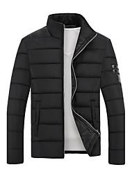 baixo de algodão coreano stand-up colarinho grossa jaqueta acolchoada jovens estudantes homens maré quentes&# 39; s ocasional pequeno