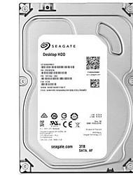 Seagate 3TB Disque dur de bureau 7200rpm SATA 3.0 (6Gb / s) 64Mo cachette 3.5 pouces-ST3000DM001