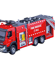 Fire Engine Vehicle Toys 1:50 Metal Red