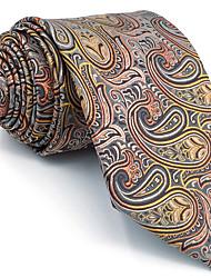 B9 Men's Necktie Tie Multicolor Paisley 100% Silk Business Fashion Wedding For Men
