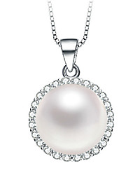 Women's Pendants Pearl Sterling Silver Imitation Pearl Basic Personalized European Jewelry For Daily Casual