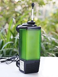 Aquarium Filtre D'air Plastique AC 100-240V