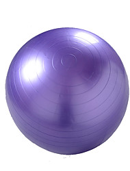 75cm Fitness Ball/Yoga Ball PVC Green Purple Unisex