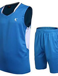 Shirt Hauts/Tops(Jaune Blanc Rouge Bleu Orange) -Basket-ball Course/Running-Manches courtes-Homme