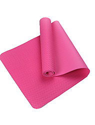 TPE Tapis de Yoga Ecologique Sans odeur 7 mm Rose Other