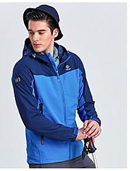 Unisexe Hauts/Tops Sport de détente Confortable Printemps Automne Bleu OrangeM L XL