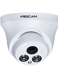 Foscam HT9852P Indoor 1.0MP HD 720P IP Dome Camera with Motion Detection Alarm and 30ft Night Vision Plug and Play Free DDNS Service