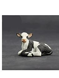 Figurines d'Action & Animaux en Peluche Modèle d'affichage Maquette & Jeu de Construction Jouets Nouveautés Taureau Plastique BlancPour