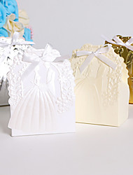 25 Piece/Set Embossing Bride And Groom Wedding Favor Box Candy Box Gift Box Wedding Favors And Gifts Chocolate Box