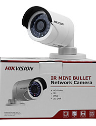 HIKVISION® 4.0 MP Bullet Outdoor 30m IR (Waterproof Day Night Motion Detection Dual Stream Remote Access Plug and play) DC12V & PoE