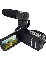 ORDRO® HDV-Z20 With External Microphone 1080P FULL HD& WIFI Connection 8MP Sony Sensor 24MP Image Resolution