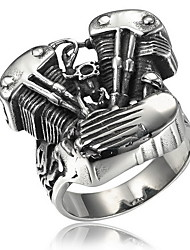 Ring Special Occasion Halloween Daily Sports Jewelry Titanium Steel Ring 1pc,8 9 10 11 As Per Picture